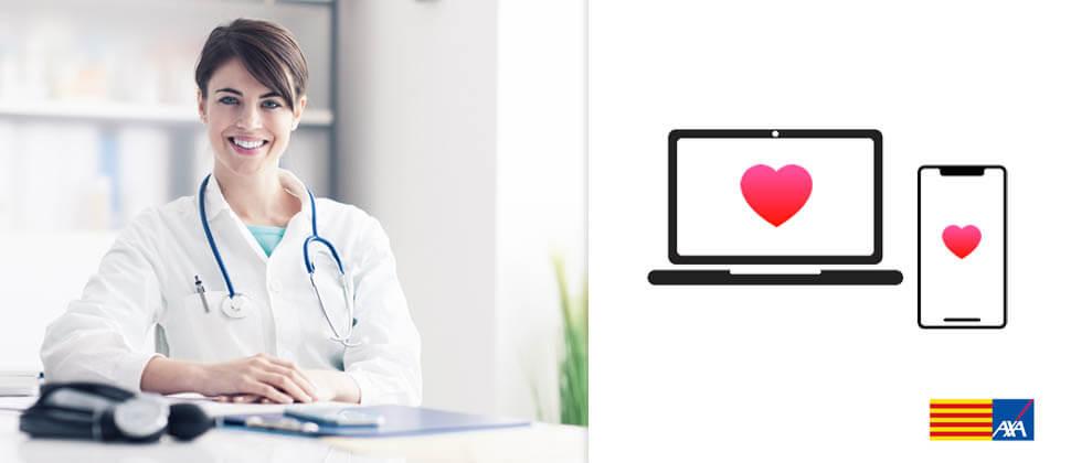 contratar online seguro salud Cataluña